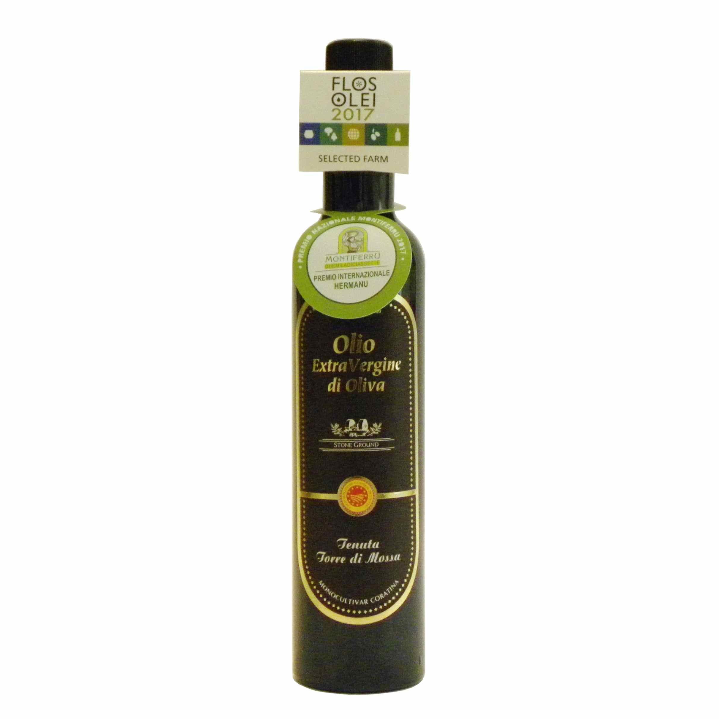 De Carlo Olio extravergine Torre di Mossa – extra virgin olive oil De Carlo – Gustorotondo – Italian food boutique
