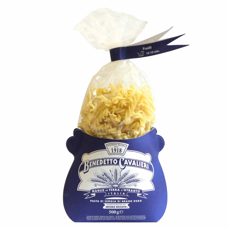 Benedetto Cavalieri fusilli pasta – Gustorotondo – Italian food boutique