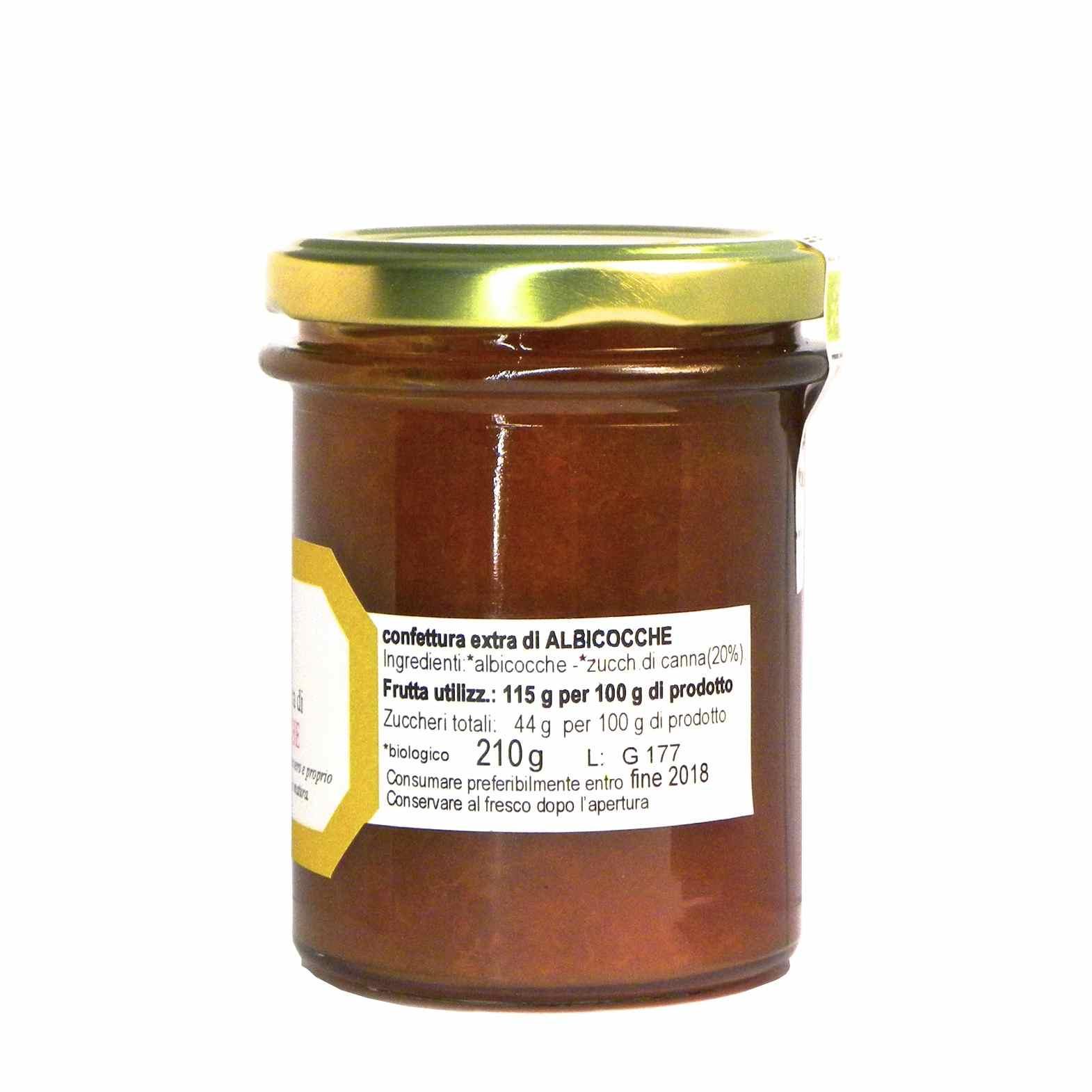 Fattoria Moldano Confettura Extra Albicocche – Extra Apricot Jam – Gustorotondo – Italian food boutique
