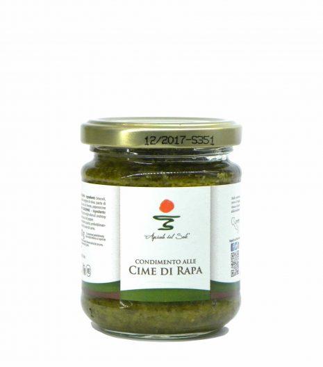 Agricola del Sole turnip green pasta sauce - Agricola del Sole condimento cime rapa - Gustorotondo - Italian food boutique