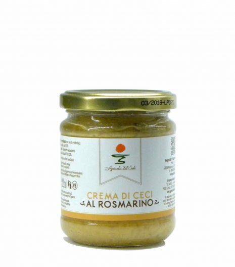 Agricola del Sole chick peas cream velvet - Agricola del Sole Crema ceci rosmarino - Gustorotondo - Italian food boutique
