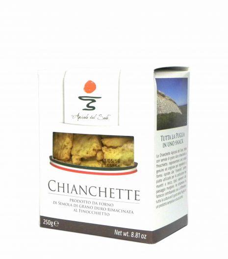 Agricola del Sole Chiancgette - Apulia Chianchette - Gustorotondo - Italian food boutique