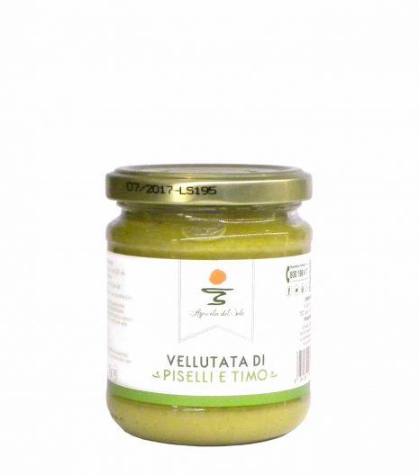 Agricola del Sole Peas thyme soup - Agricola del Sole Vellutata piselli timo - Gustorotondo - Italian food boutique