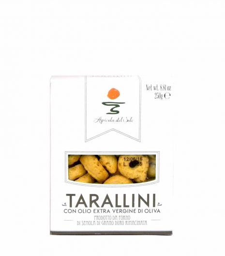 Agricola del Sole Tarallini Olio extravergine oliva - Apulia Tarallini extra virgin olive oil - Gustorotondo - Italian food boutique