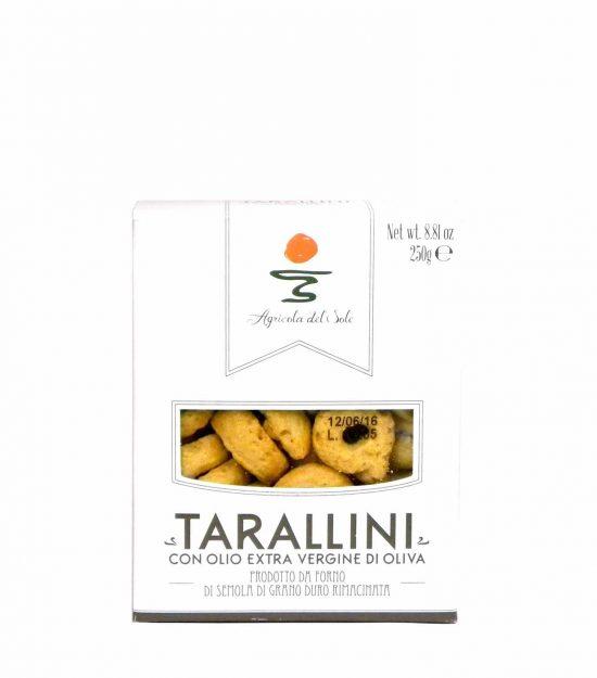 Agricola del Sole Tarallini Olio extravergine oliva – Apulia Tarallini extra virgin olive oil – Gustorotondo – Italian food boutique