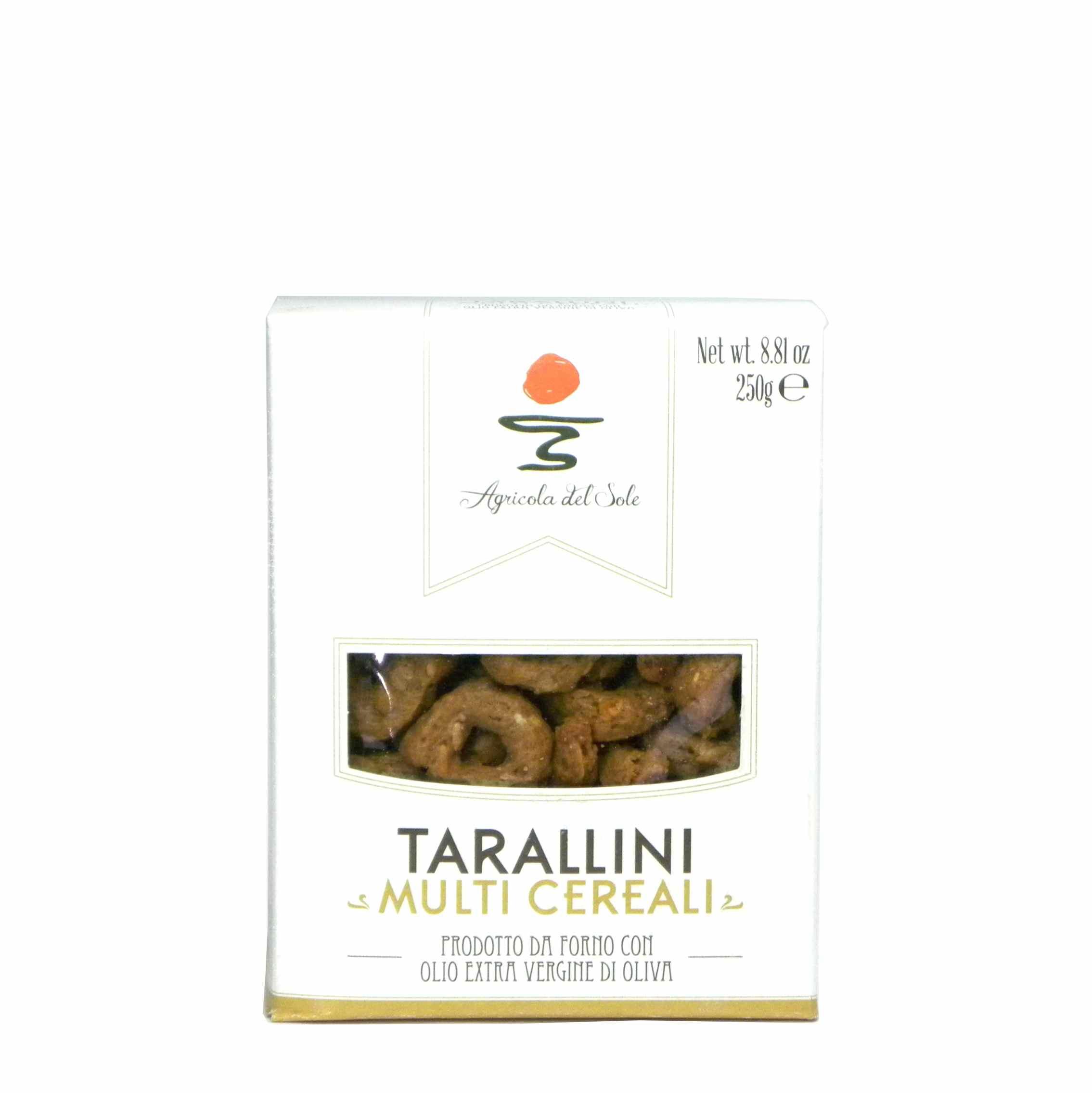 Agricola del Sole Tarallini Multicerali – Apulia Tarallini Multicerali – Gustorotondo – Italian food boutique