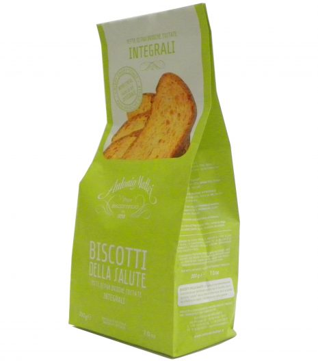 Biscotti Salute Integrali Mattei - Whole wheat Grilled Bread Mattei - Gustorotondo - Italian food boutique