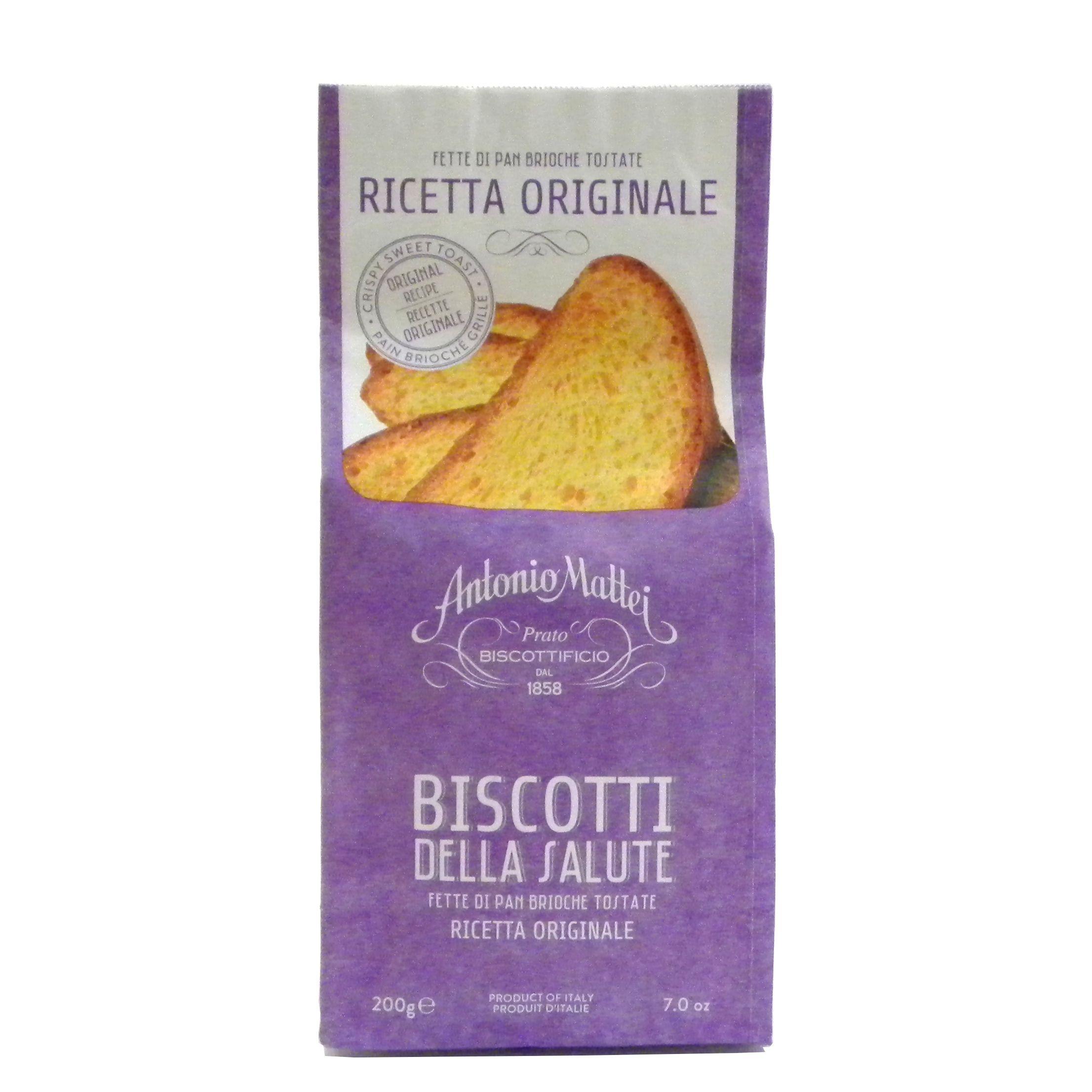 Biscotti Salute ricetta originale Mattei – Gustorotondo – Italian food boutique