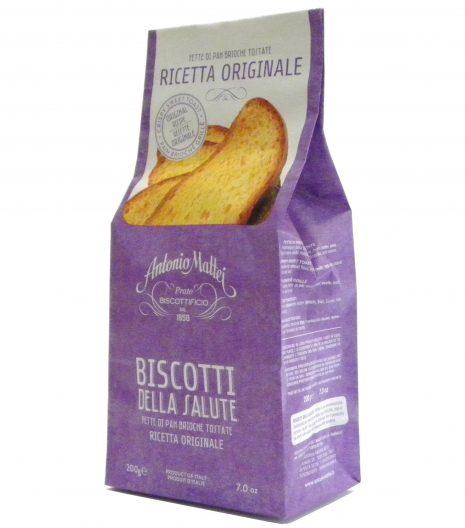 Biscotti Salute ricetta originale Mattei - Gustorotondo - Italian food boutique