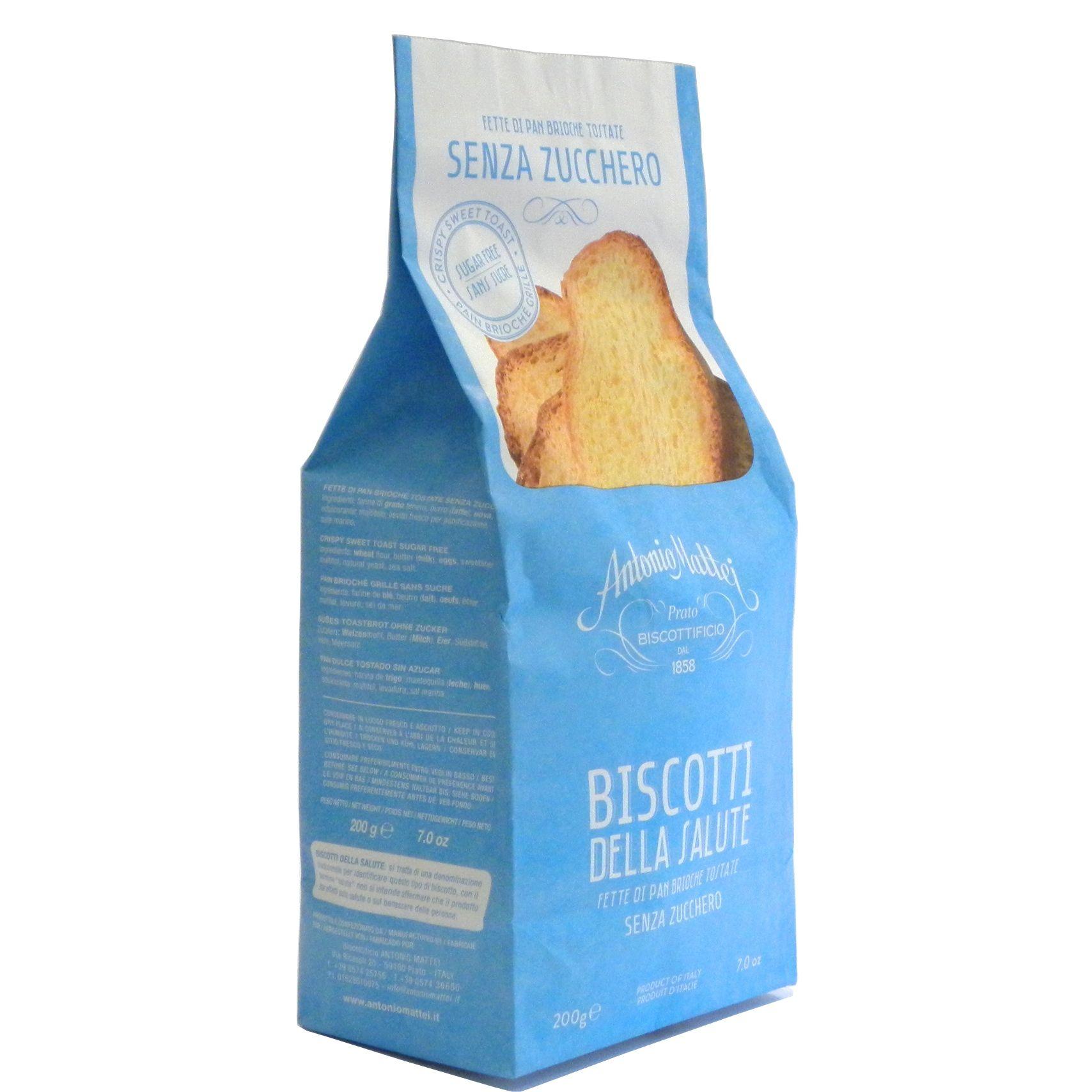 Biscotti Salute senza zucchero Mattei – Gustorotondo – Italian food boutique