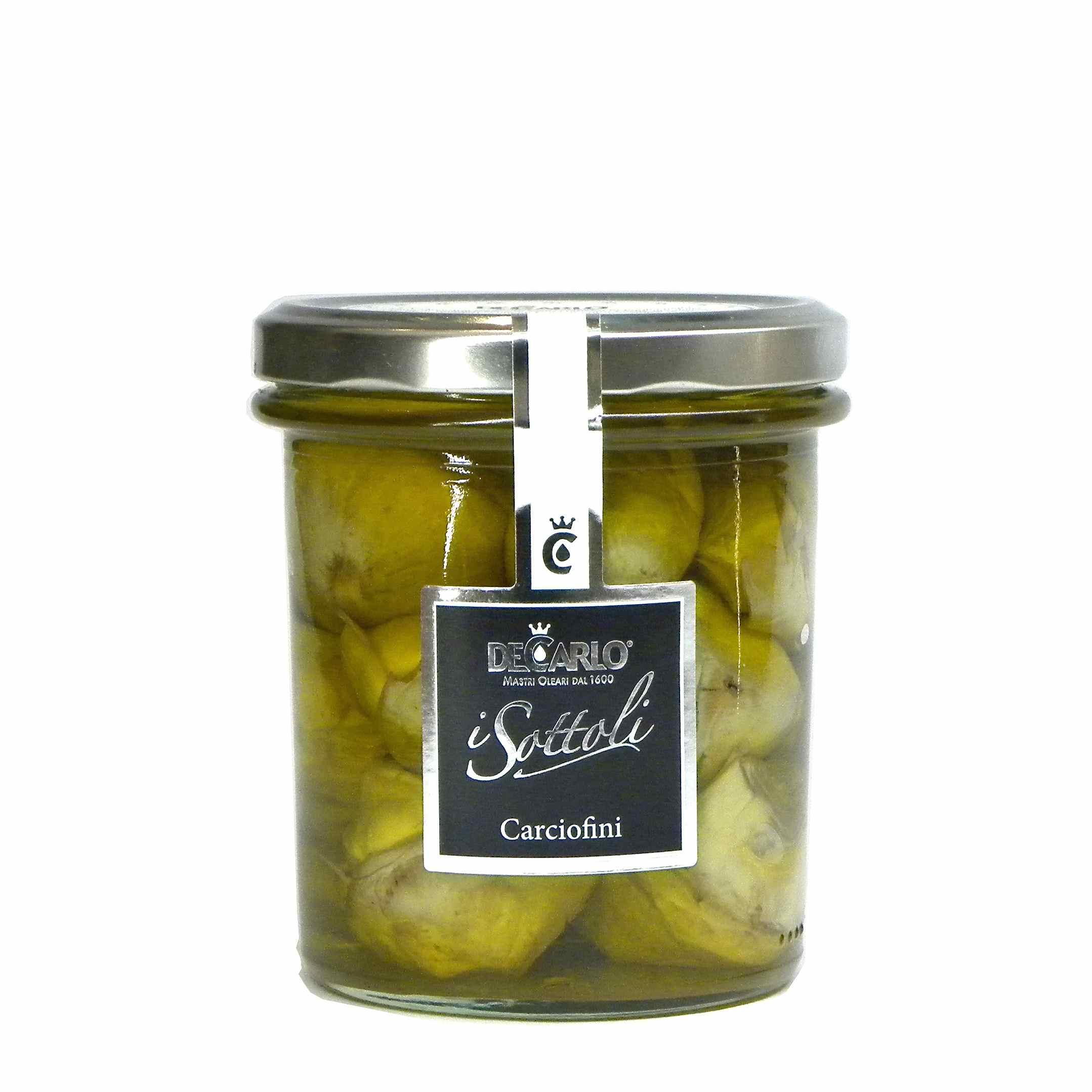 De Carlo Artichokes – De Carlo Carciofi – Gustorotondo – Italian food boutique