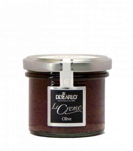 De Carlo crema olive nere - De Carlo black olive bruschetta - Gustorotondo - Italian food boutique
