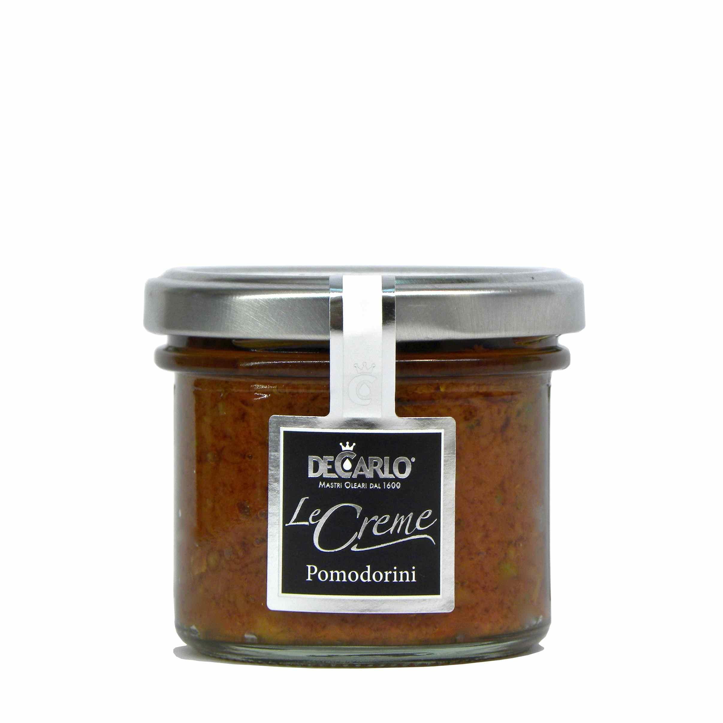 De Carlo crema pomodorini – De Carlo cherry tomato bruschetta – Gustorotondo – Italian food boutique