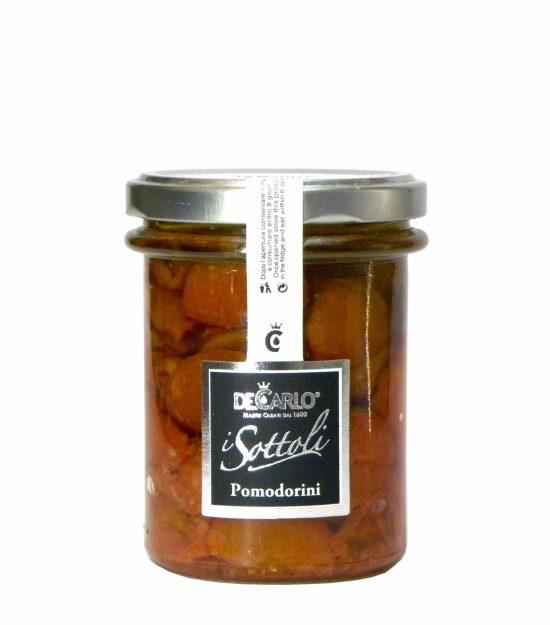 De Carlo Pomodorini – De Carlo Semi dried tomatoes – Gustorotondo – Italian food boutique
