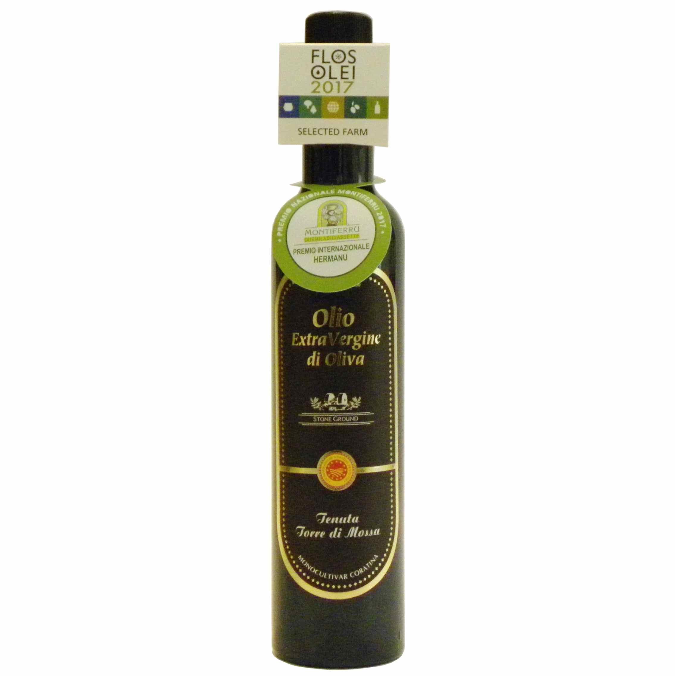 De Carlo Olio extravergine di oliva Torre di Mossa – De Carlo Extra virgin olive oil Torre di Mossa – Gustorotondo – Italian food boutique