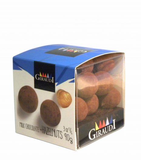 Giraudi milk chocolate hazelnuts - Giraudi dragee cioccolato latte nocciole - Gustorotondo - Italian food boutique