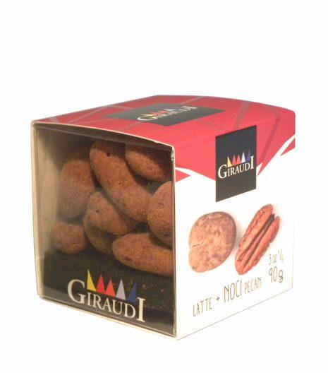 Giraudi chocolate Pecan walnuts - Giraudi dragee cioccolato noci Pecan - Gustorotondo - Italian food boutique