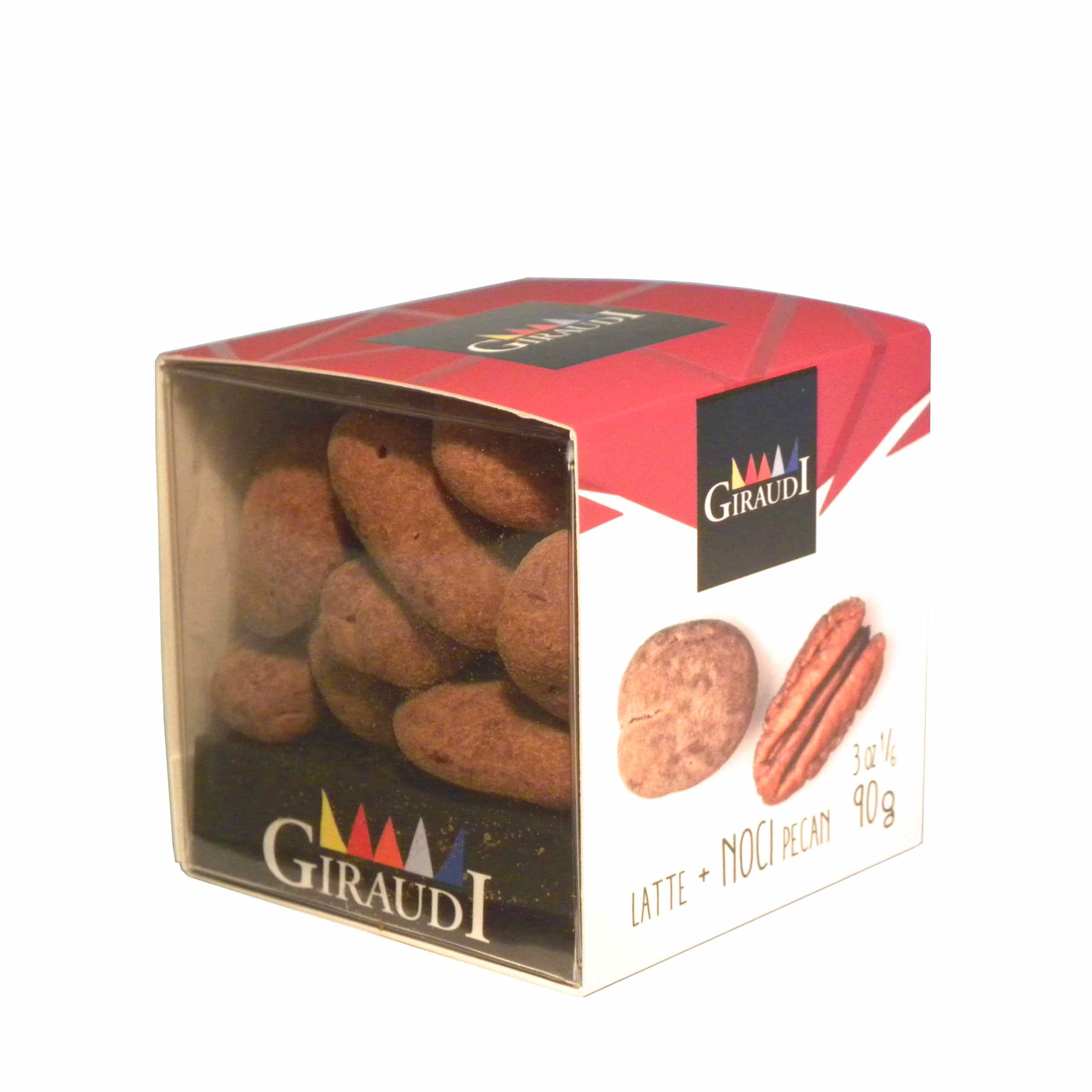 Giraudi chocolate Pecan walnuts – Giraudi dragee cioccolato noci Pecan – Gustorotondo – Italian food boutique