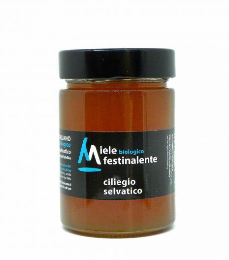 Festinalente miele bio ciliegio selvatico - Festinalente organic raw cherry tree honey - Gustorotondo - Italian food boutique