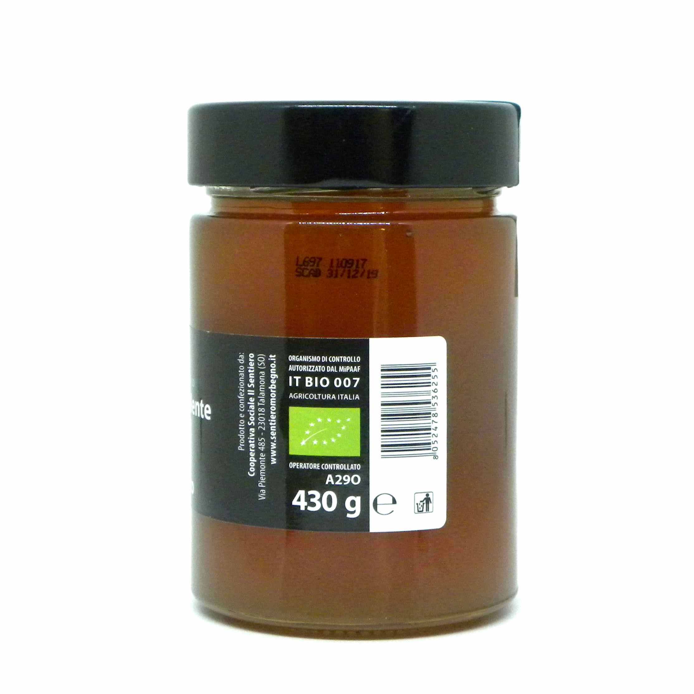 Festinalente miele bio ciliegio selvatico – Festinalente organic raw cherry tree honey – Gustorotondo – Italian food boutique