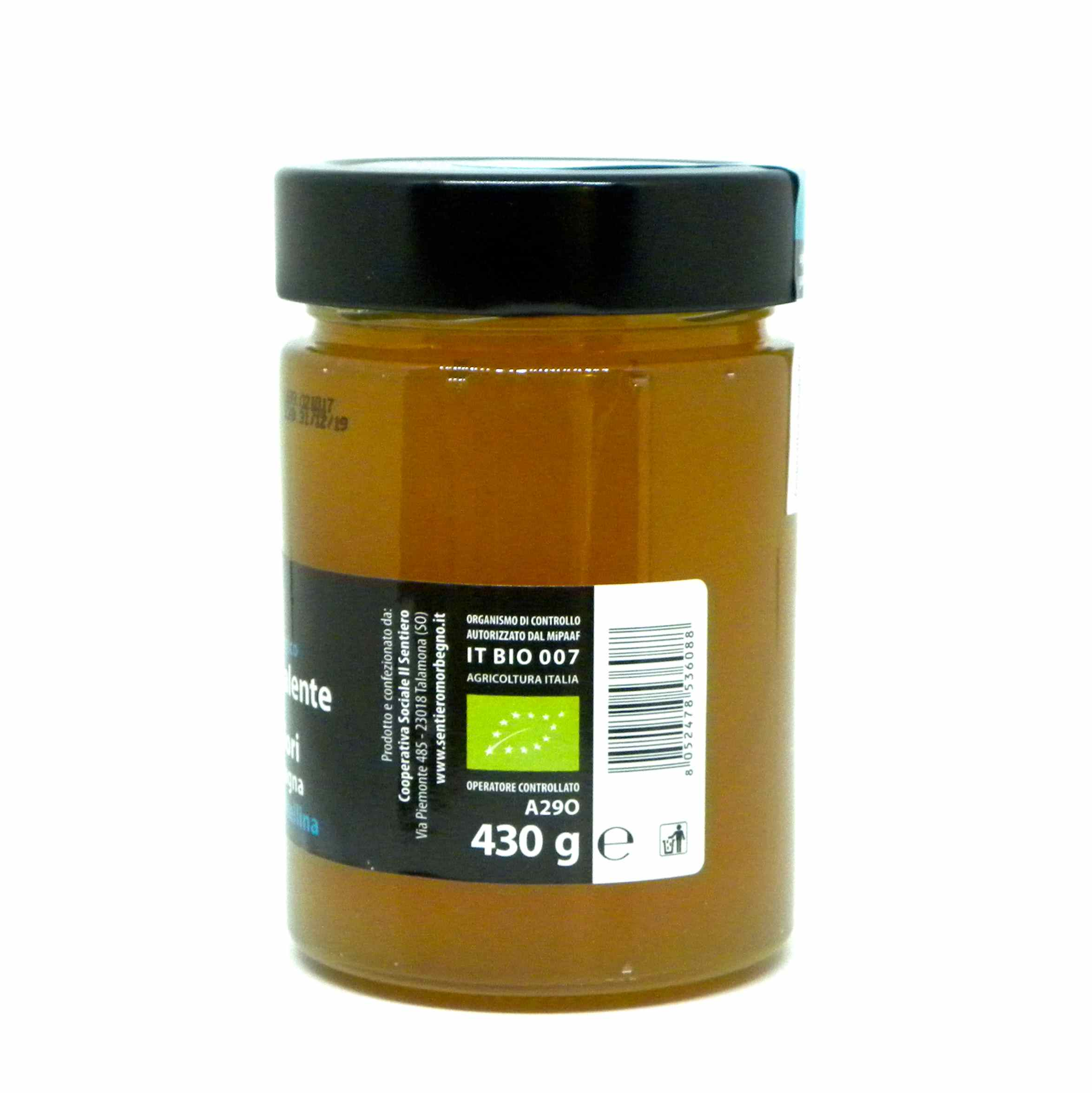 Festinalente miele bio millefiori Valtellina – Festinalente organic raw thousand flowers honey – Gustorotondo – Italian food boutique