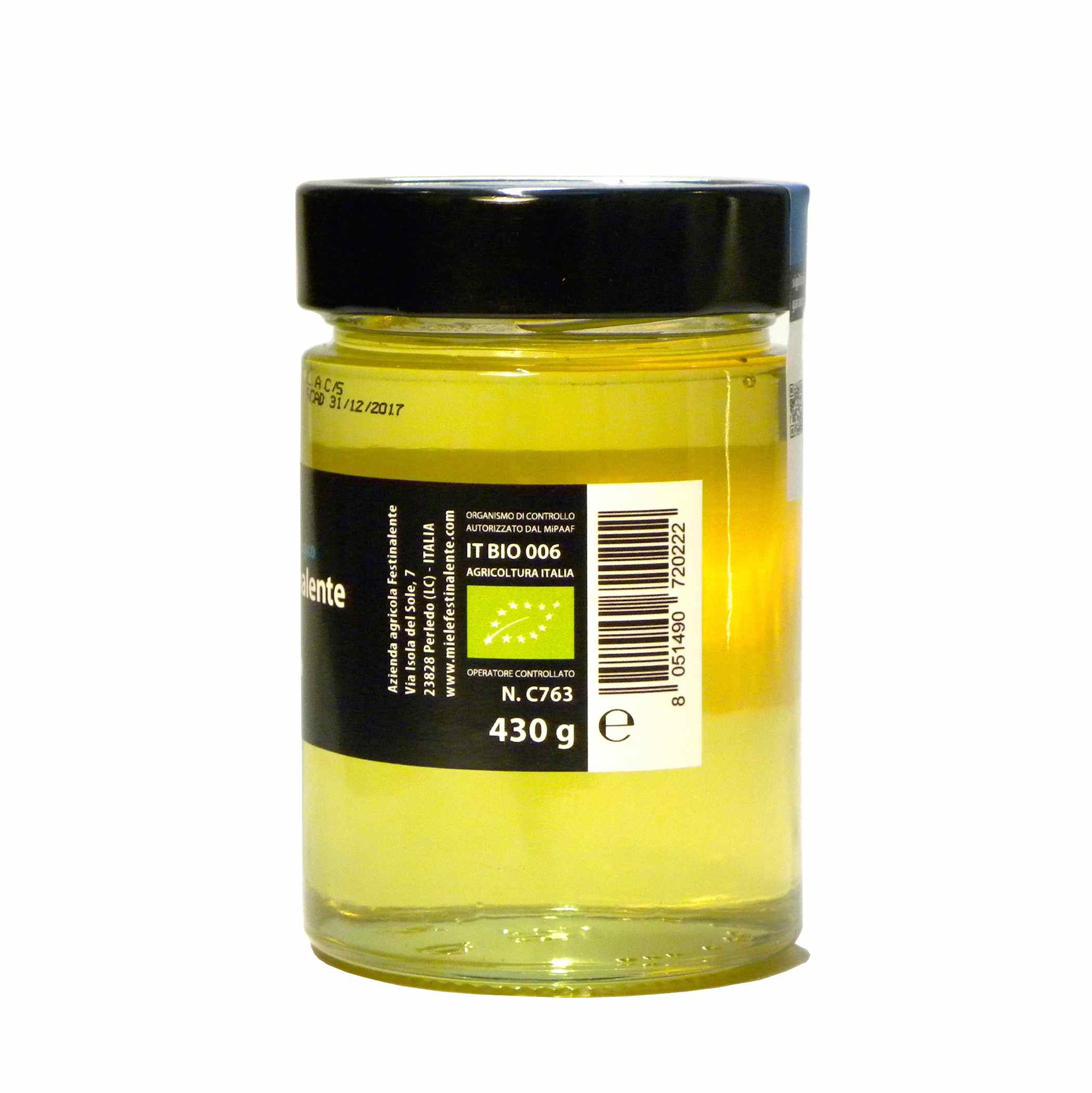 Festinalente miele bio millefiori alpi – Festinalente organic raw acacia honey – Gustorotondo – Italian food boutique