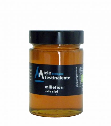 Festinalente miele bio millefiori alpi - Festinalente organic raw alps thousand flowers honey - Gustorotondo - Italian food boutique
