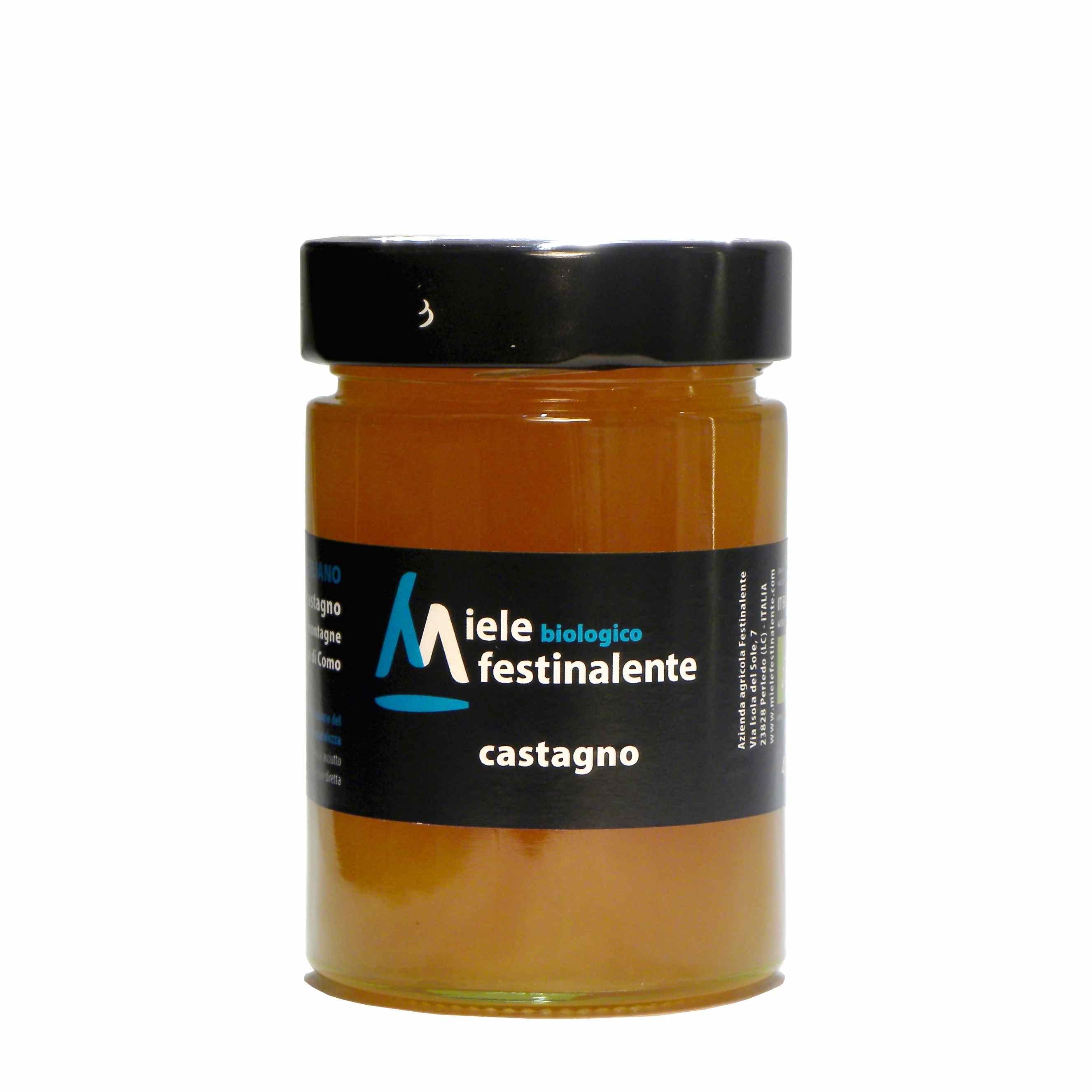 Festinalente miele bio castagno – Festinalente organic raw chestnut honey – Gustorotondo – Italian food boutique