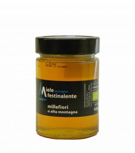 Festinalente miele bio millefiori - Festinalente organic raw mountain thousand flowers honey - Gustorotondo - Italian food boutique