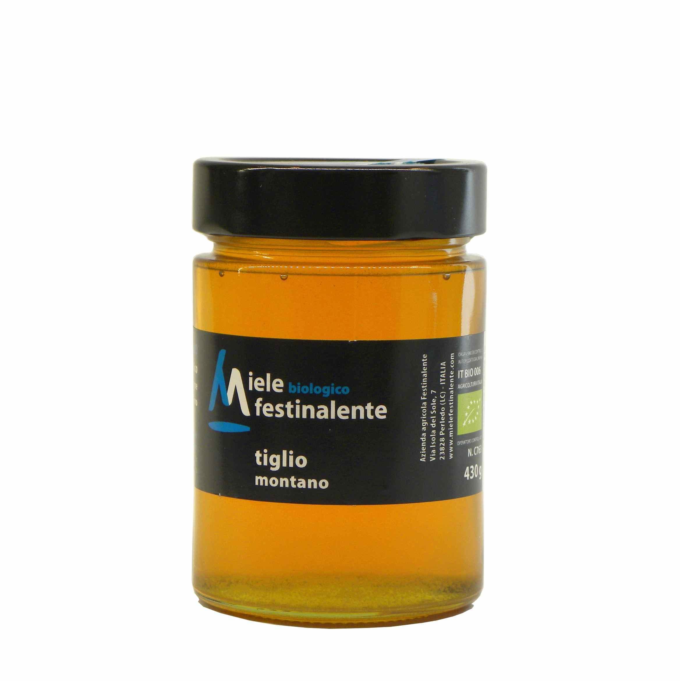 Festinalente miele bio tiglio – Festinalente organic raw linden honey – Gustorotondo – Italian food boutique