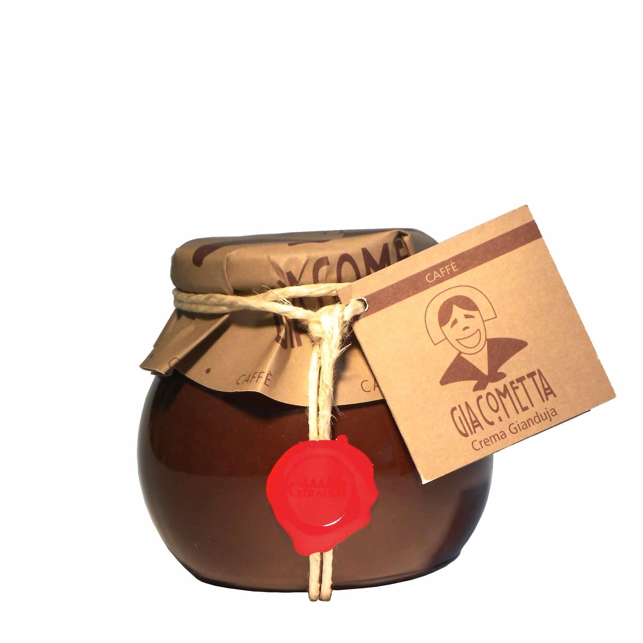Giraudi Giacometta caffè 300 g- Giraudi Giacometta coffe spread 300 g – Gustorotondo – Italian food boutique