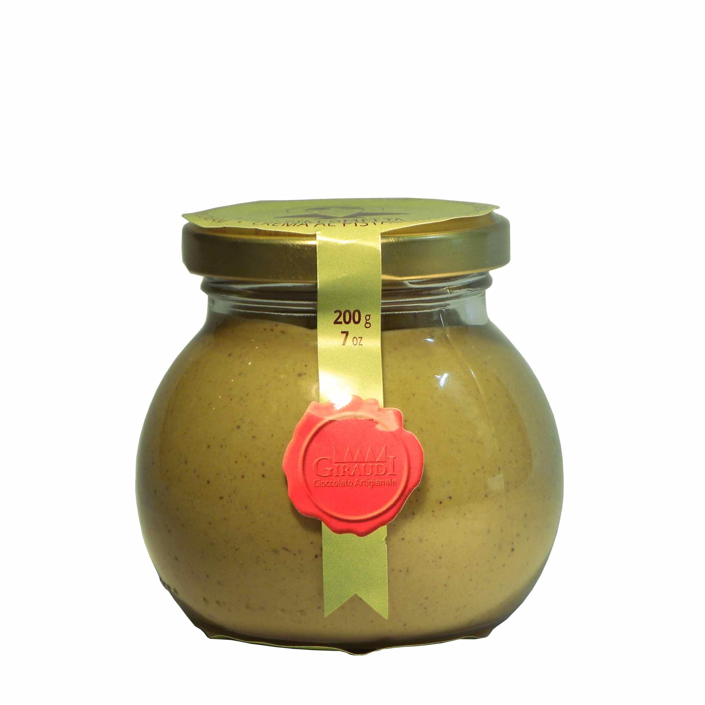 Giraudi Giacometta pistacchio- Giraudi pistachio spread – Gustorotondo – Italian food boutique