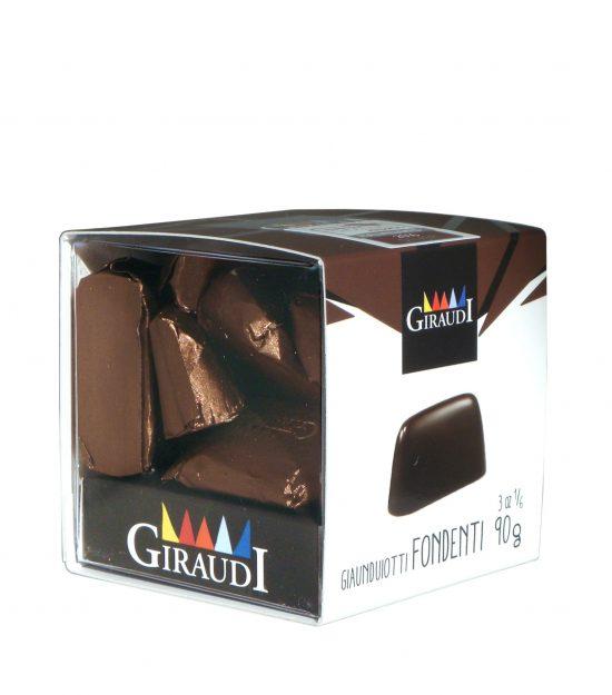 Giraudi gianduiotti fondenti – Giraudi dark chocolate Gianduiotti – Gustorotondo – Italian food boutique