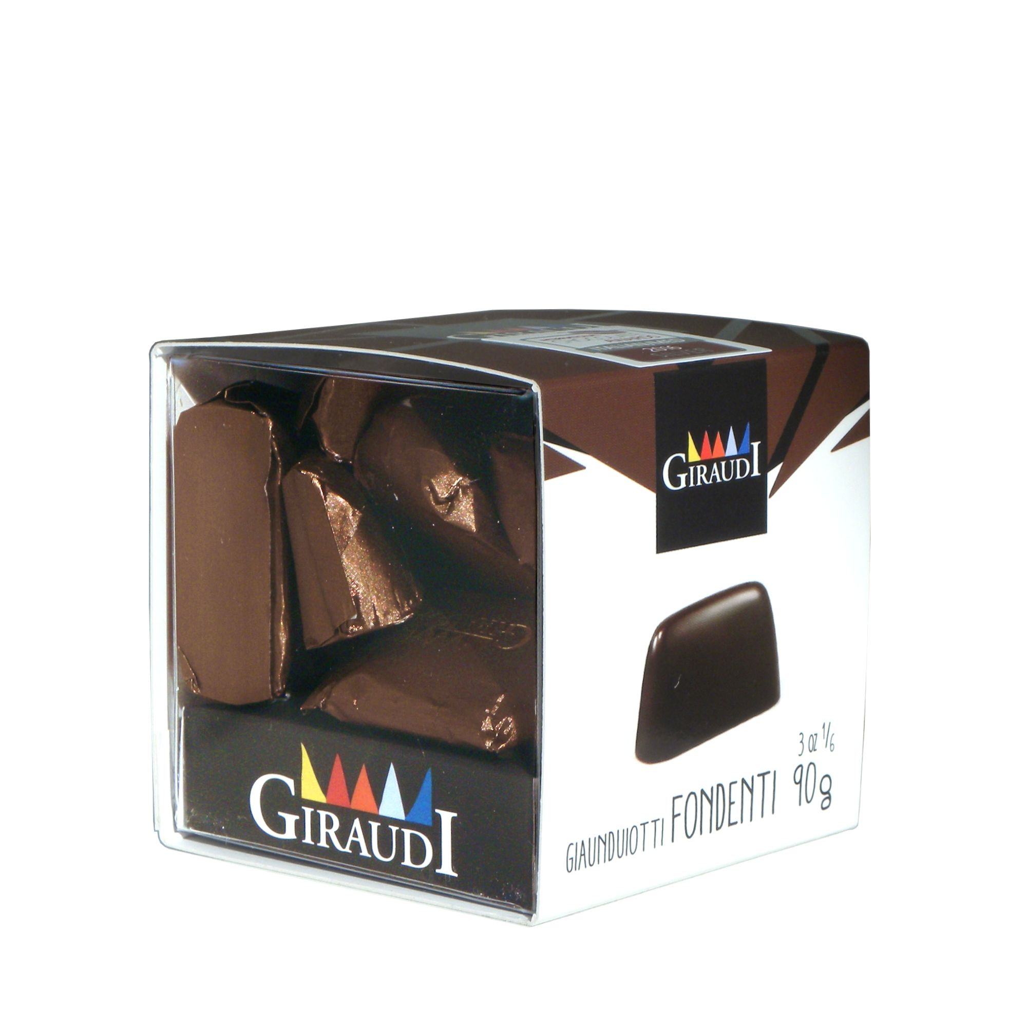 Giraudi gianduiotti fondenti – Giraudi dark chocolate Gianduiotti – Gustorotondo – Italian food boutique
