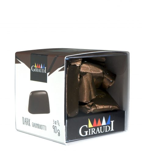 Giraudi gianduiotti fondenti - Giraudi dark chocolate Gianduiotti - Gustorotondo - Italian food boutique