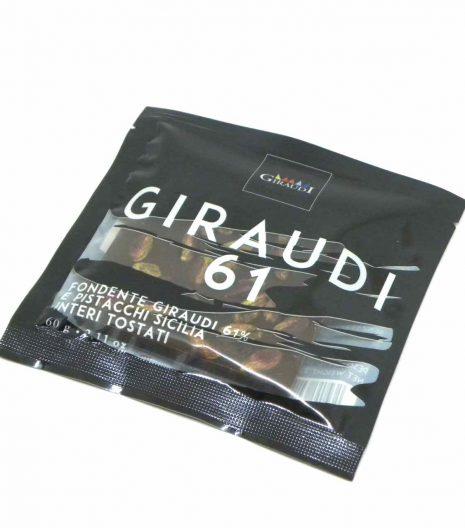Giraudi tavoletta cioccolato fondente pistacchi - Giraudi dark chocolate bar pistachios - Gustorotondo - Italian food boutique