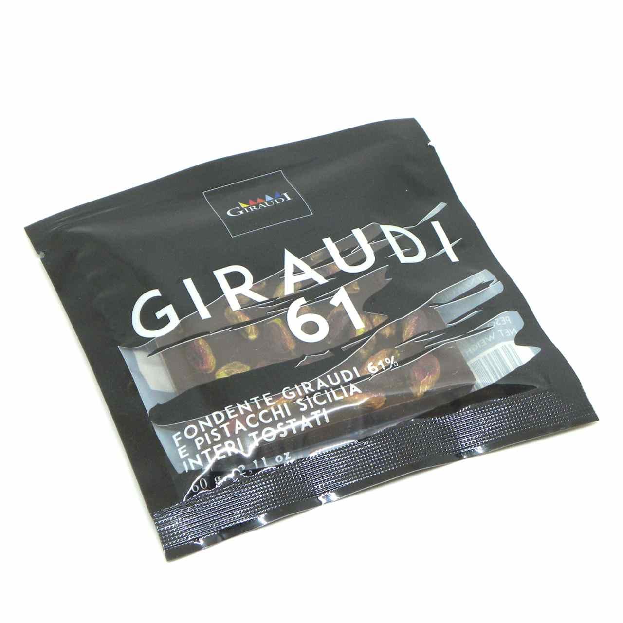 Giraudi tavoletta cioccolato fondente pistacchi – Giraudi dark chocolate bar pistachios – Gustorotondo – Italian food boutique