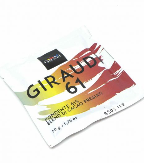 Giraudi tavoletta cioccolato fondente 61 - Giraudi dark chocolate bar 61 - Gustorotondo - Italian food boutique