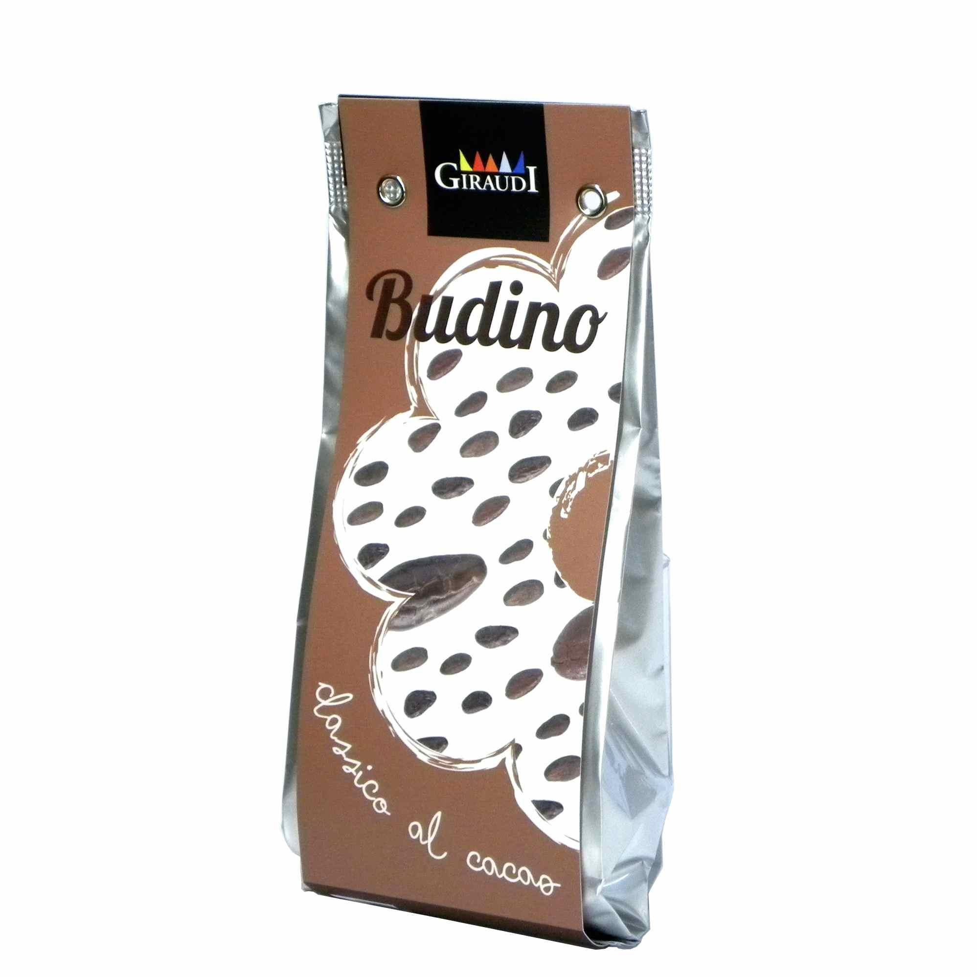 Giraudi budino cacao – Giraudi cocoa pudding – Gustorotondo – Italian food boutique