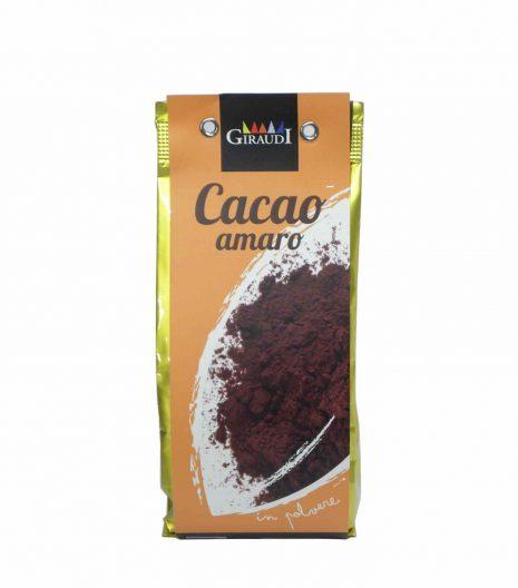 Giraudi cacao amaro - Giraudi dark cocoa - Gustorotondo - Italian food boutique
