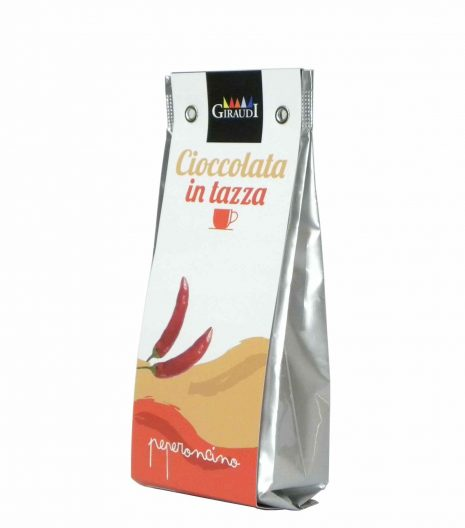 Giraudi cioccolata peperoncino - Giraudi chili pepper hot chocolate - Gustorotondo - Italian food boutique