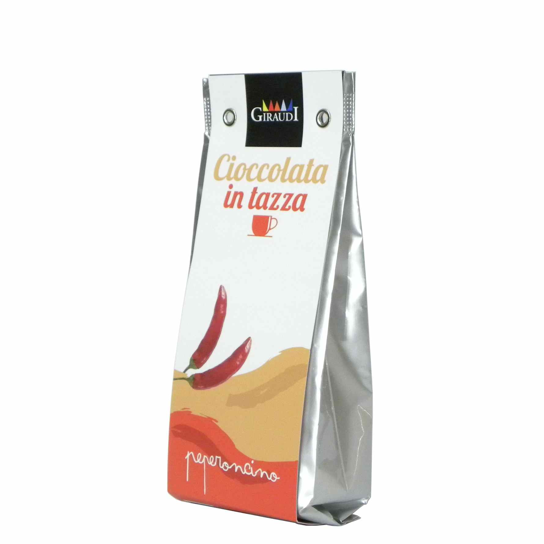 Giraudi cioccolata peperoncino – Giraudi chili pepper hot chocolate – Gustorotondo – Italian food boutique