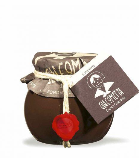 Giraudi Giacometta fondente 300 g - Giraudi dark Giacometta hazelnuts spread 300 g - Gustorotondo - Italian food boutique