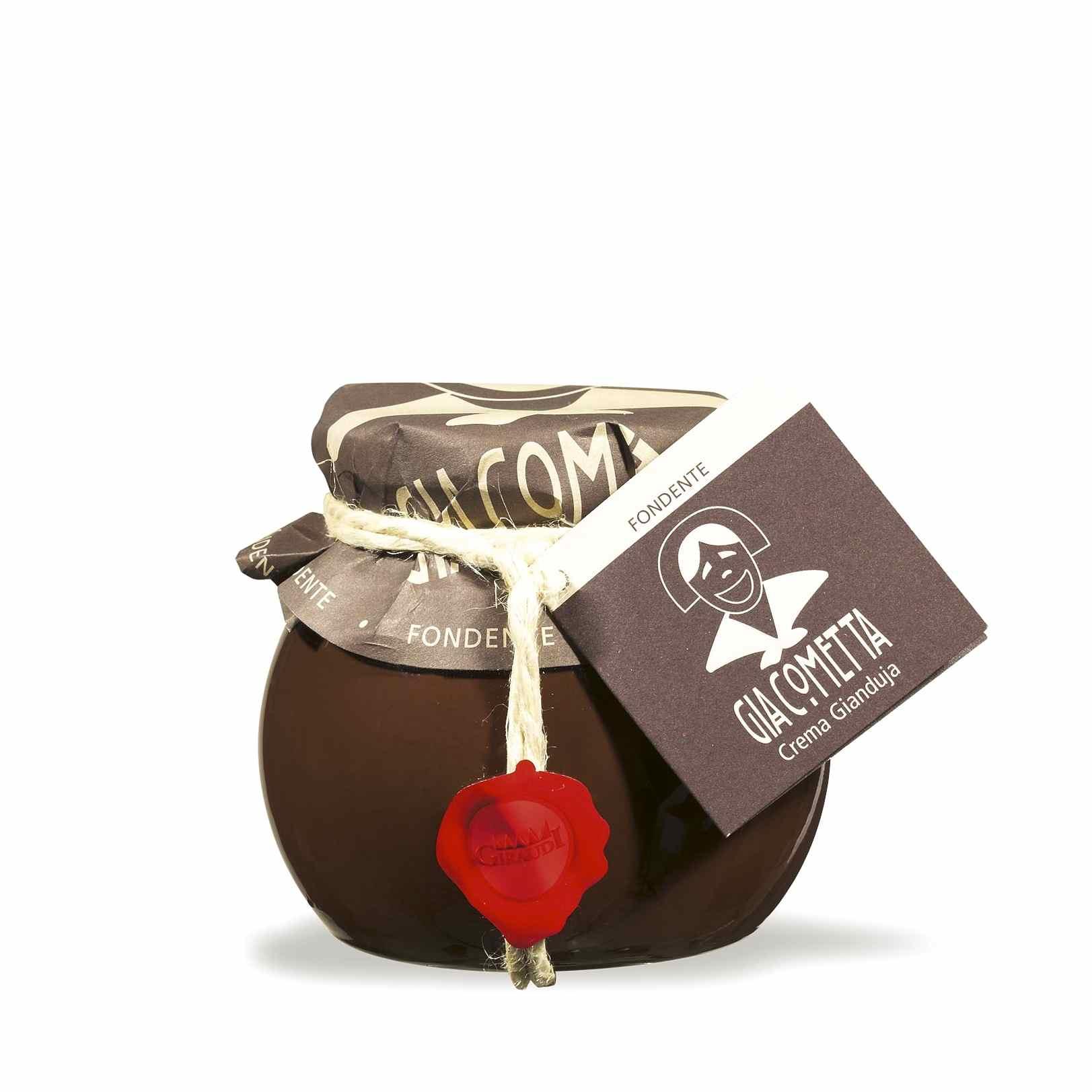 Giraudi Giacometta fondente 300 g – Giraudi dark Giacometta 300 g – Gustorotondo – Italian food boutique