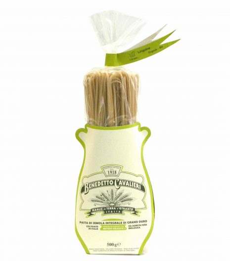 Benedetto Cavalieri Pasta Linguine Bio Integrali - Benedetto Cavalieri Organic Whole wheat pasta Linguine - Gustorotondo - Italian food boutique
