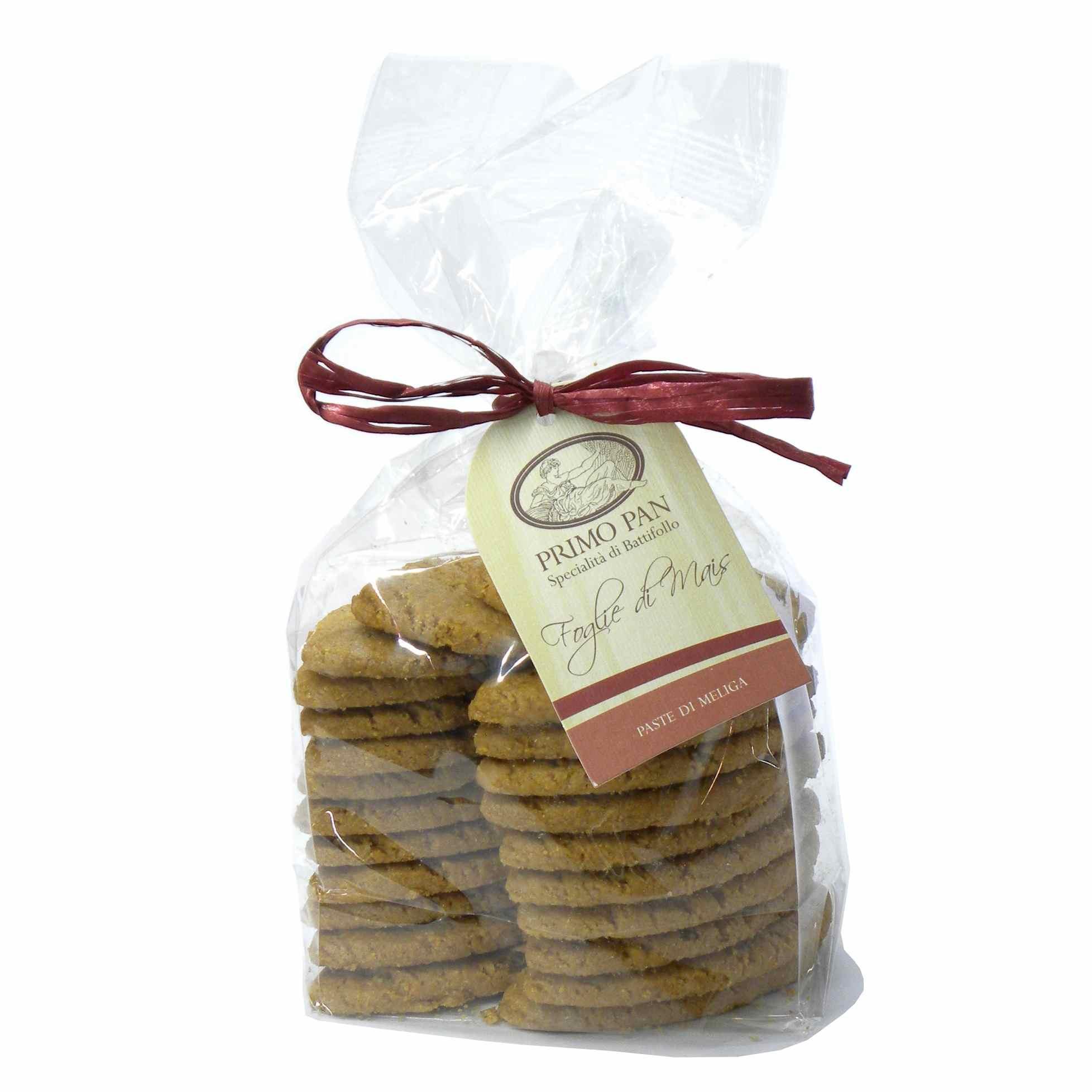 Primo Pan Meliga Mais Biscotti – Primo Pan Meliga Mais Biscuits – Gustorotondo – Italian food boutique