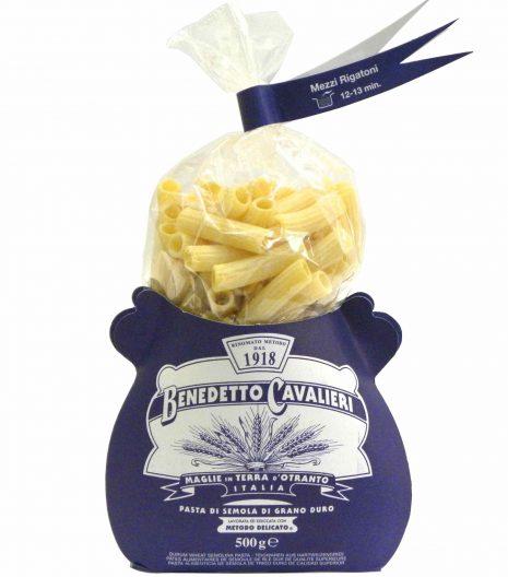 Benedetto Cavalieri Pasta Mezzi rigatoni - Gustorotondo - Italian food boutique