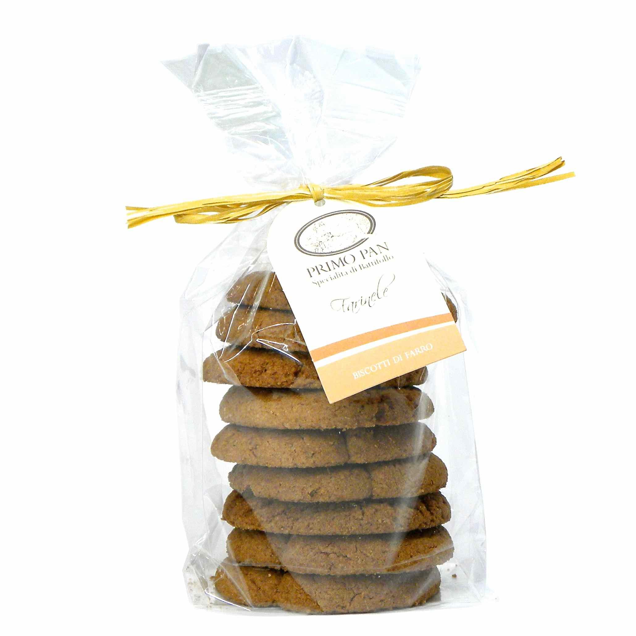 Primo Pan Farro Biscotti – Primo Pan Farro Biscuits – Gustorotondo – Italian food boutique
