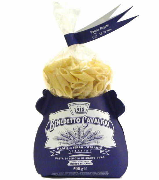 Benedetto Cavalieri Pasta Penne rigate – Gustorotondo – Italian food boutique