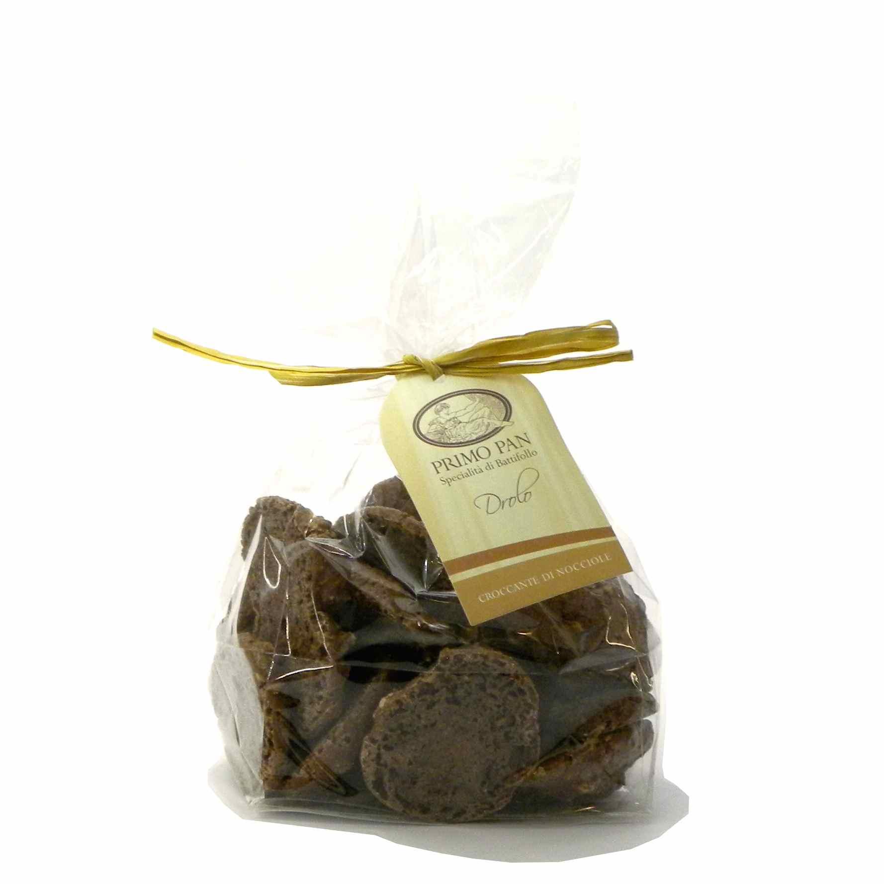 Primo Pan Drolo nocciole cacao Biscotti – Primo Pan Drolo hazelnuts cocoa Biscuits – Gustorotondo – Italian food boutique